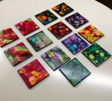 Paintings from the Fall 2016 Painting Class